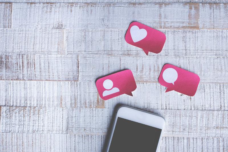 zviditelnění na sociálních síťích